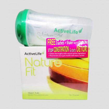 Activelife Nature Fit 10g 15's